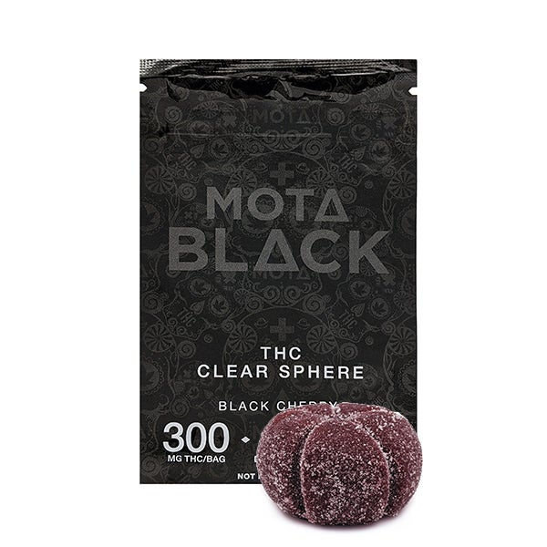 Mota Black Clear Sphere