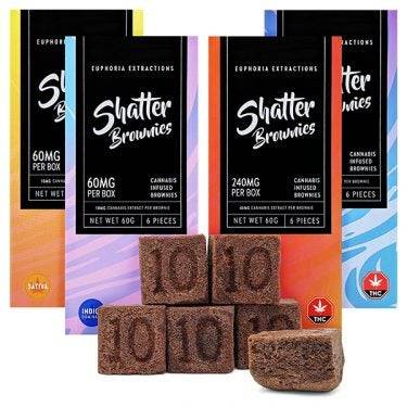 Shatter Brownies