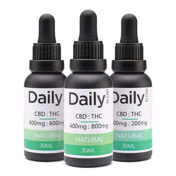 Daily CBD:THC Tincture Group