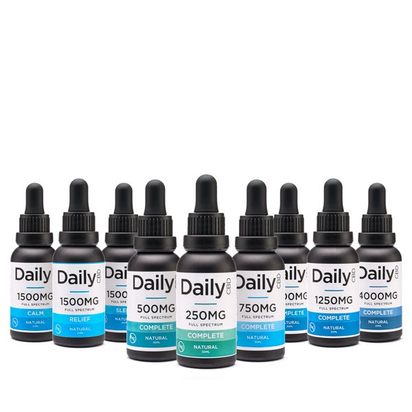 Daily CBD Tinctures Group