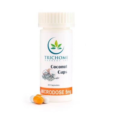 Trichome Garden THC Microdose Capsules