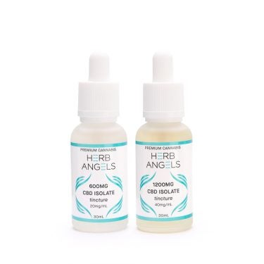 Herb Angels CBD Isolate Tinture Group