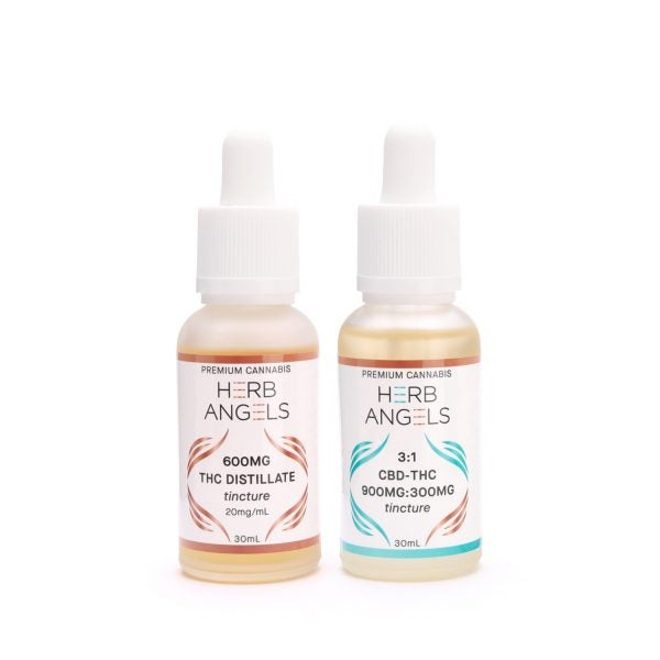 Herb Angels THC Tincture Group