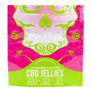 CBD Fruit Jellies from MOTA