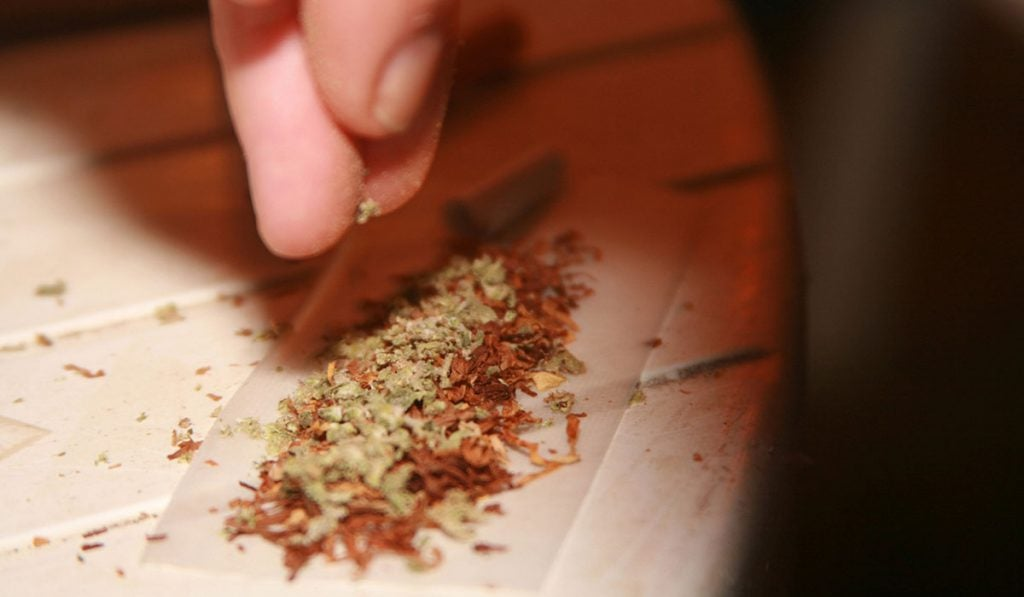 Hash in a Joint
