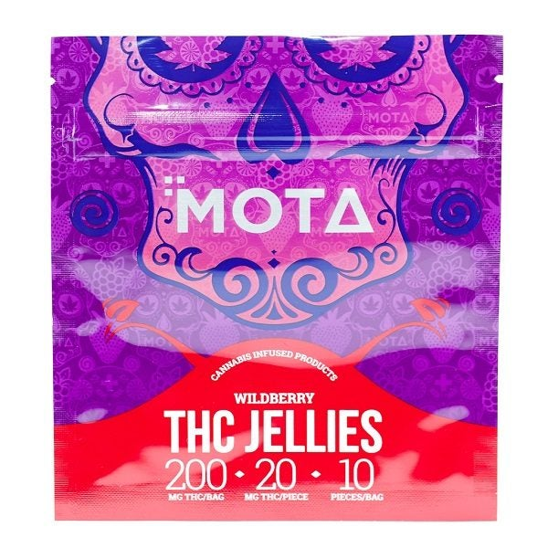 Mota Wild Berry Jellies THC