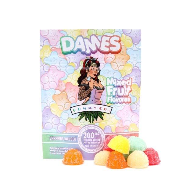 Dames Mixed Fruit Gummies