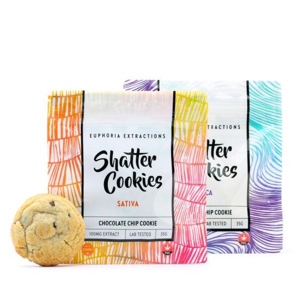 Euphoria Extractions THC Cookies