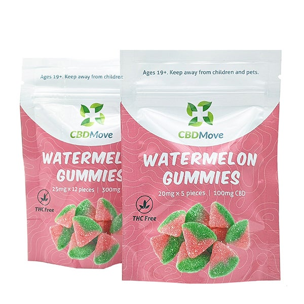 CBD Move Watermelon Gummies